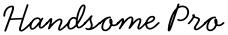 Handsome Pro font
