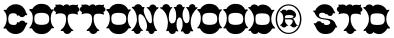 Cottonwood® Std font