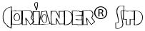 Coriander® Std font
