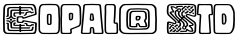 Copal® Std font