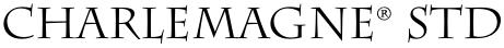 Charlemagne® Std font
