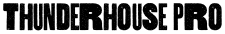 Thunderhouse Pro font