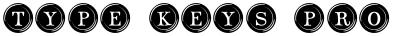 Type Keys Pro font