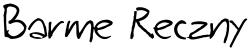 Barme Reczny font