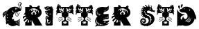 Critter Std font