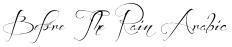 Before The Rain Arabic font