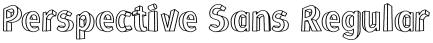 Perspective Sans Regular font