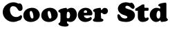 Cooper Std font